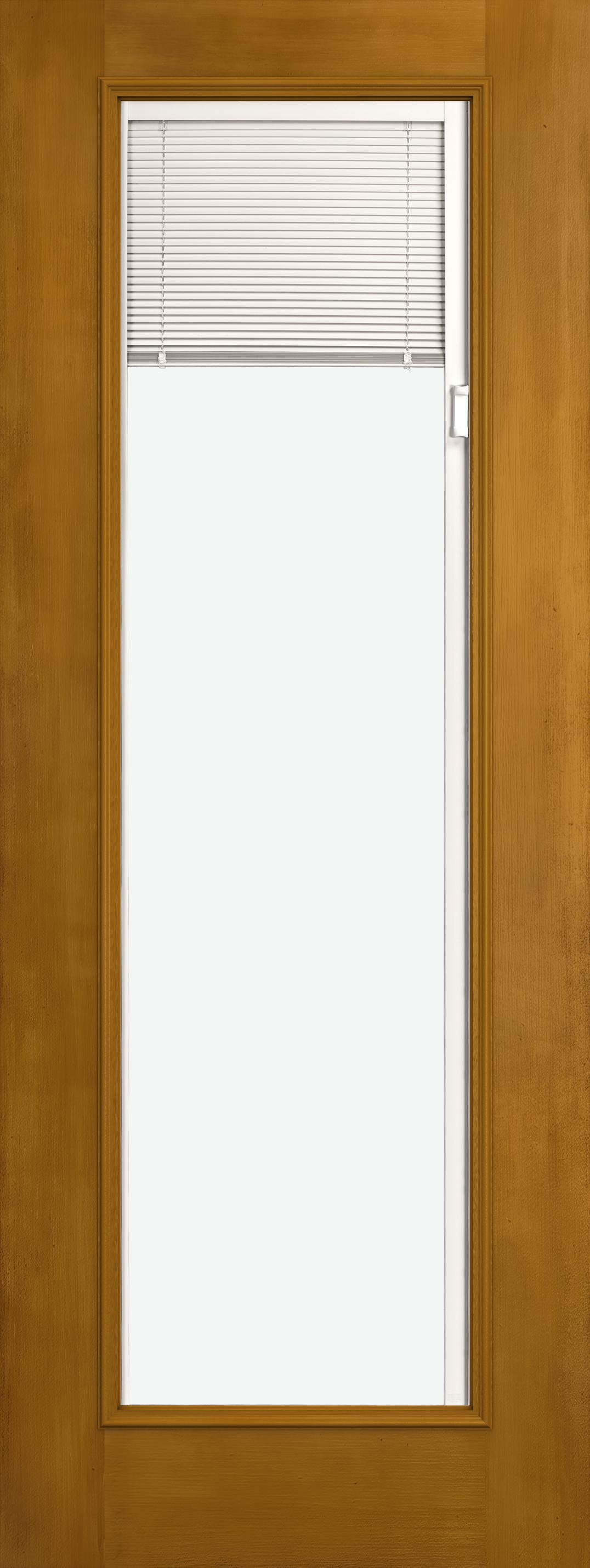 Design Pro Fiberglass Exterior Doors 8ft Fir Full View Blinds Glass Panel Reliable And Energy Efficient Doors And Windows Jeld Wen Windows Doors