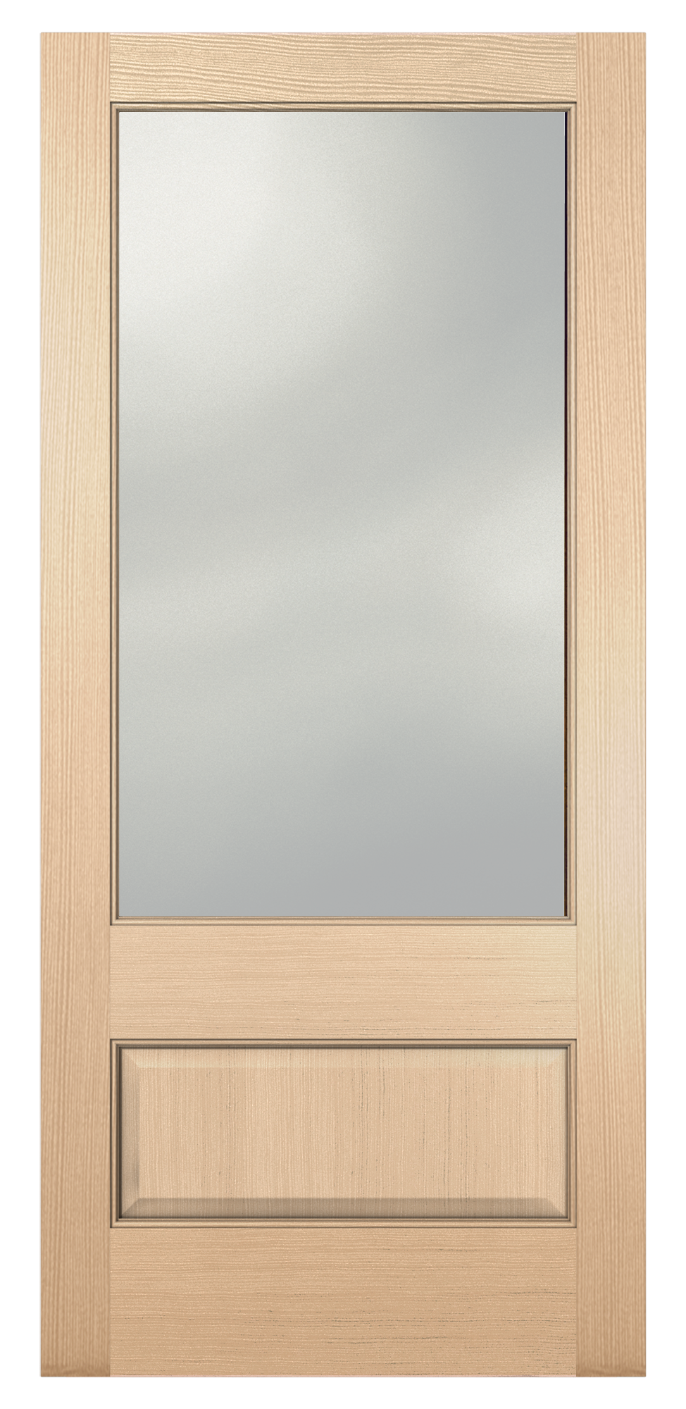 Authentic Wood Exterior Doors 5101 Glass Panel Reliable
