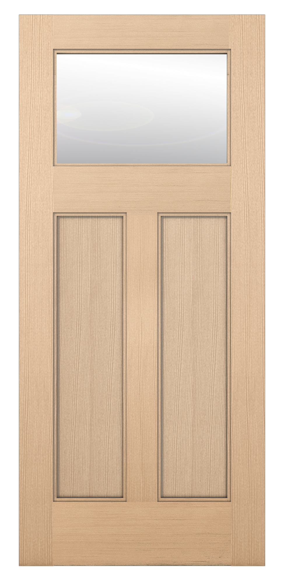 Authentic Wood Exterior Doors 6201 Glass Panel Reliable