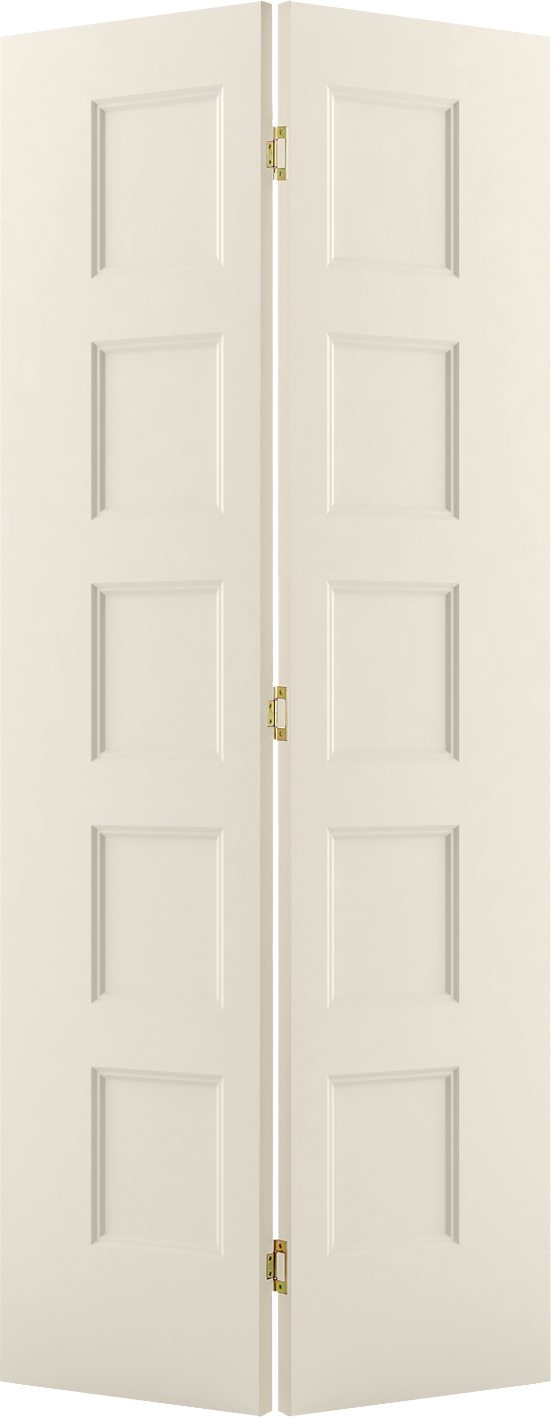 Molded Wood Composite Interior Doors Conmore Smooth Bifold
