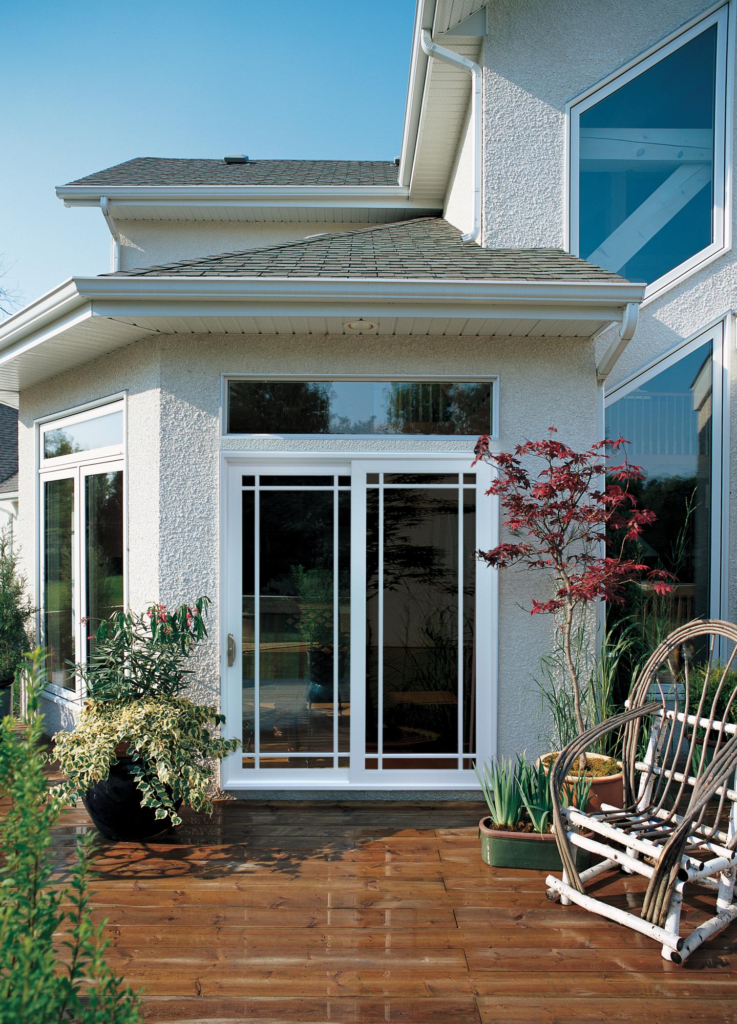 Premium Vinyl V 4500 Patio Doors 2 Panel Sliding Reliable And Energy Efficient Doors And Windows Jeld Wen Windows Doors