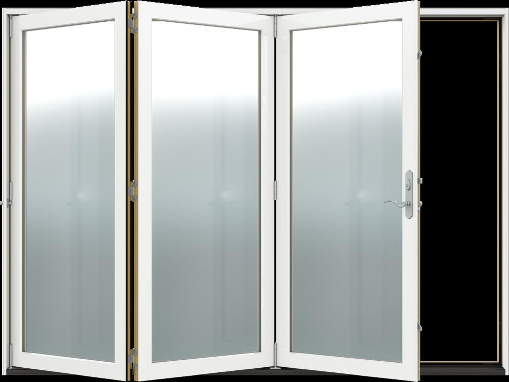 Siteline Clad Wood Patio Doors 3 Left Folding Reliable